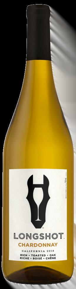 Bouteille de vin Chardonnay